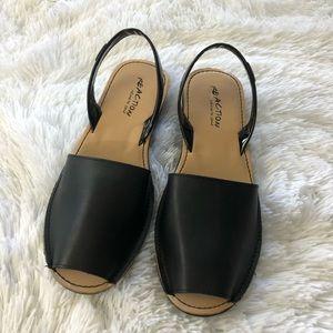 KENNETH COLE REACTION Sling Back Peep Toe sandals